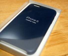 iphone6 純正レザーケース
