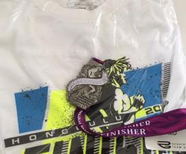 ホノルルマラソン2014完走Tシャツ