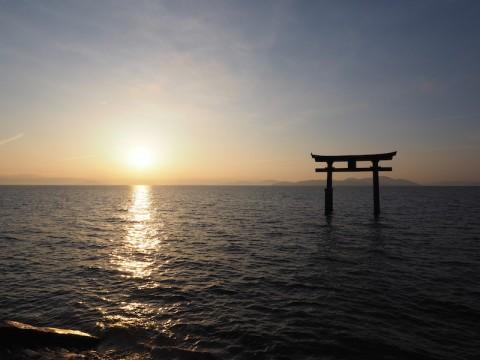 びわ湖白髭神社